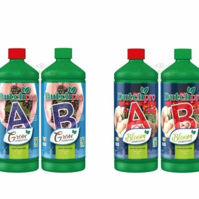 דשן שני בקבוקים AB לגידול ופריחה