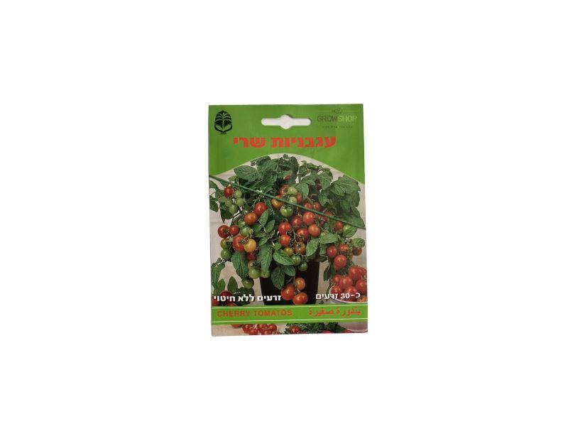 זרעים לגידול בחממה בגינה או בבית