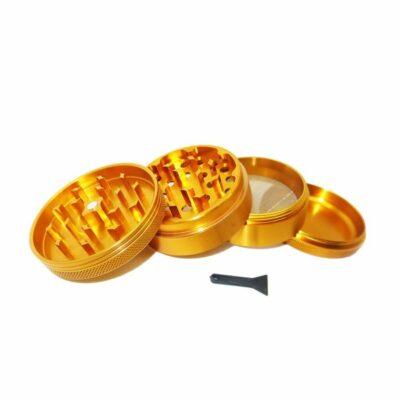 גרינדר אלומיניום גדול זהב בלינג