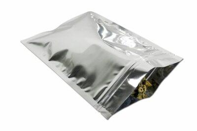 Stash bag double zip seal