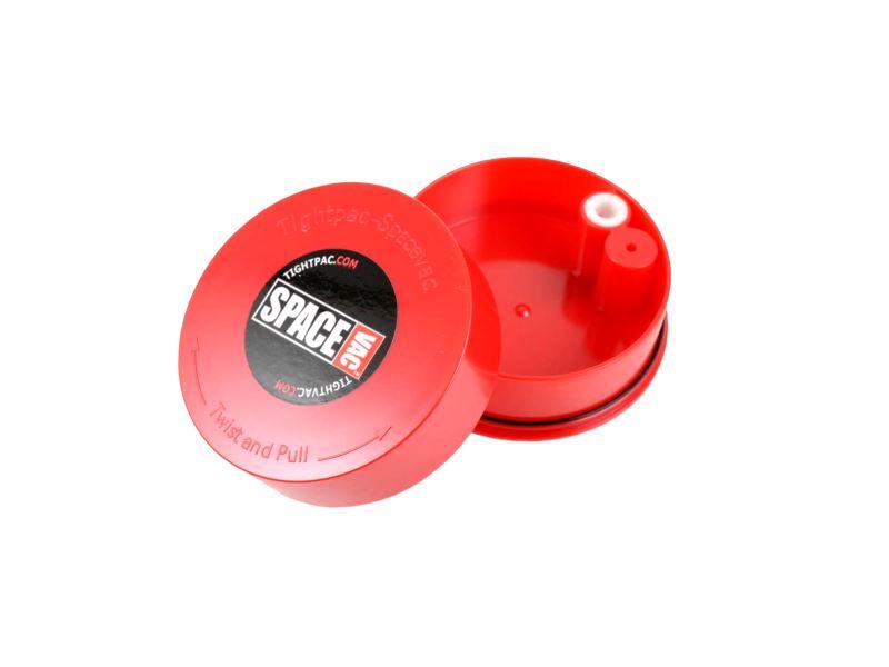 קופסה אדומה שטוחה לאחסון