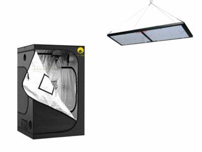 אוהל 80X80 עם תאורת לד לגידול