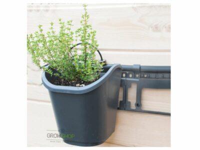 מתקן קיר ירוק לגידול צמחי תבלין