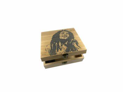 קופסת במבוק בוב מארלי חריטה - סטאש