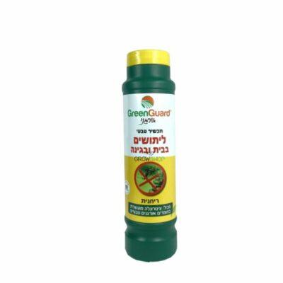 גרגרים להרחקת יתושים במרפסת ובגג או בגינה