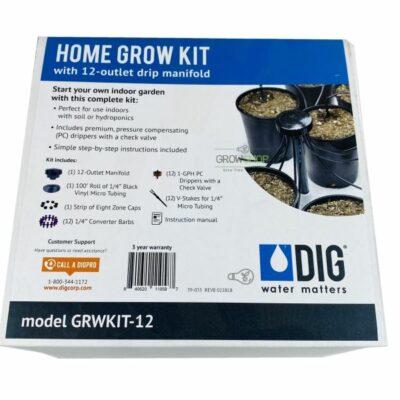 DIG grow kit irrigation