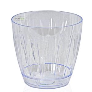עציץ פלסטיק שקוף יעודי לסחלבים