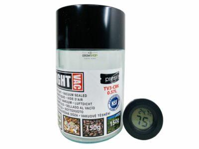 מיכל אטום חצי ליטר לאחסון קפה