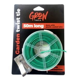 50 מטר -Grow Tools חוט קשירה ירוק לתמיכה